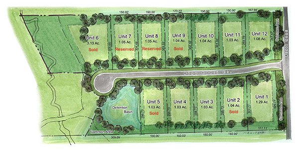 Pine Ridge Estates site map